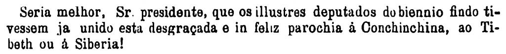 Trecho da transcrição do discurso do Pe. Antonio da Luz